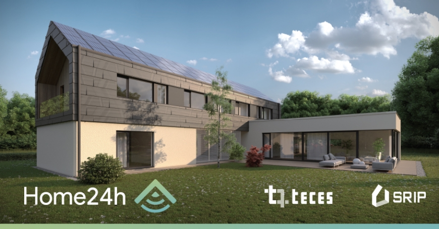 "Project ""Home24h – The smart home of tomorrow, for a comfortable and healthy living and working environment"" – TECES as the project coordinator"